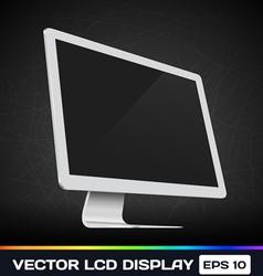 LCD DIsplay vector image vector image