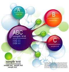 template infographics vector image