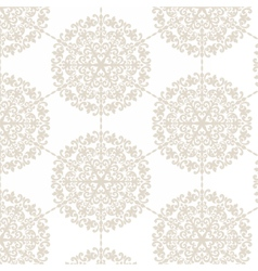 Classic damask Ornament pattern vector
