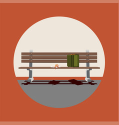 forrest gump movie icon movie collection vector image