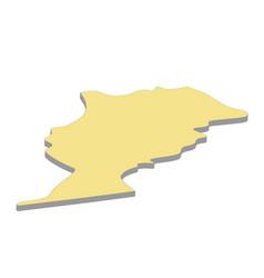 Map morocco vector