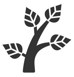 plant tree flat icon vector image