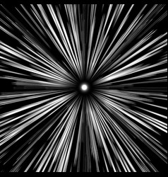 Warp speed abstract background stars blurred on a vector