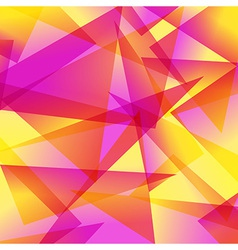 yellow red Fractal Abstract Background in vector image