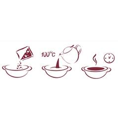soup schema vector image