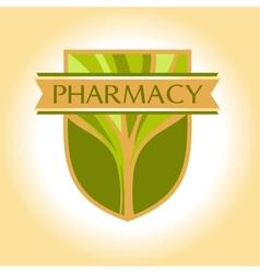 Medical pharmacy logo design template Editable vector image