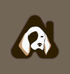 pet house logo vector image