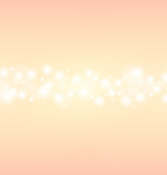Romantic abstrack sparkling center background vector