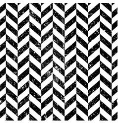 vintage seamless chevron pattern textured vector image vector image