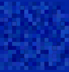 Blue square mosaic pattern background vector
