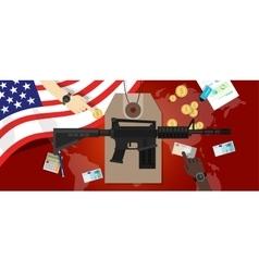 Cost war conflict economics gun control vector