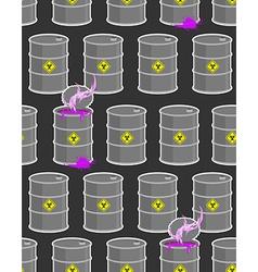 Dump biohazard Gray flanks with violet dangerous vector