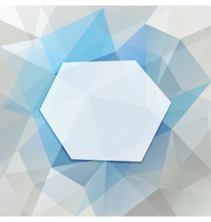 Geometric frame vector image