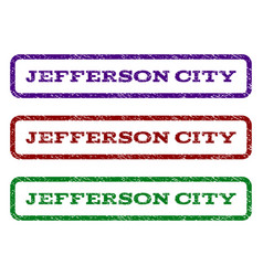 Jefferson city watermark stamp vector