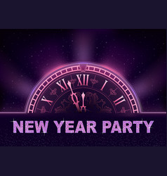 new year party background in purple tones vector image