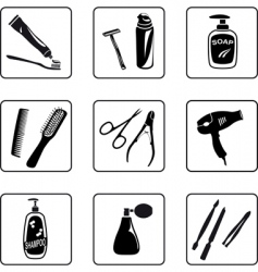 personal hygiene vector image