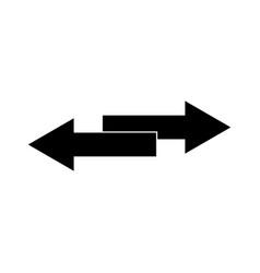 Two side arrows vector