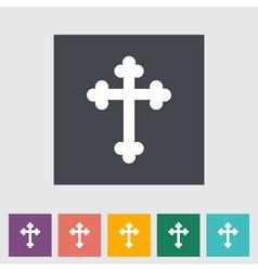 cross vector image vector image