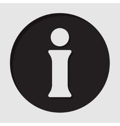 Icon - information symbol vector