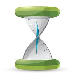 Clock Twist Time Symbol Icon vector image