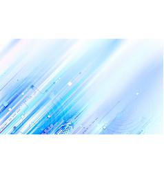 blue modern tech background vector image