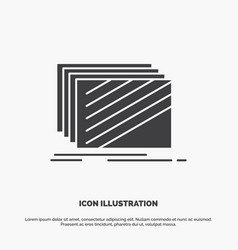 design layer layout texture textures icon glyph vector image