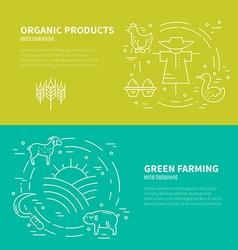 Farming Concept vector