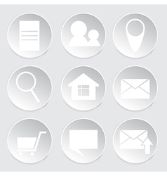 icon for internet-shop vector image