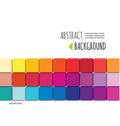 mosaic 3d paper cut out abstract background vector image