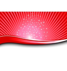Red magical background vector