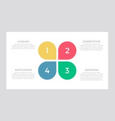 set blue and red green yellow elements for vector image