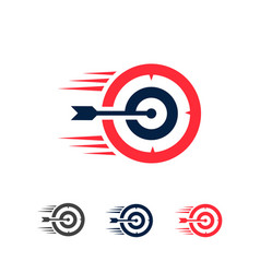 Target or dart icon vector