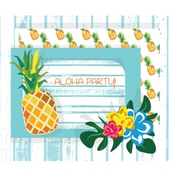 Vintage Summer Card vector image