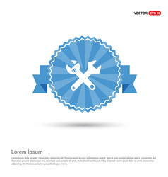 wrenches icon vector image