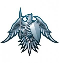 iron eagle vector image