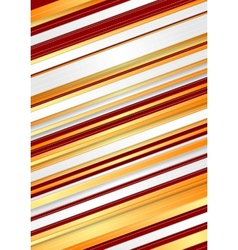 Abstract red and orange stripes background vector