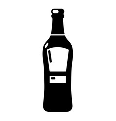 Bourbon icon simple style vector