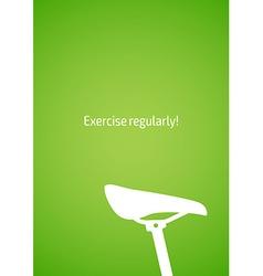 Fitness for design website infographic poster vector