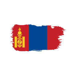 Mongolia flag vector