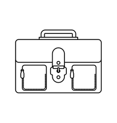 portfolio business isolated icon vector image