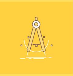 Precision accure geometry compass measurement vector