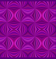 Purple seamless abstract psychedelic curved ray vector