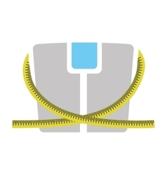 scale weight lose icon vector image