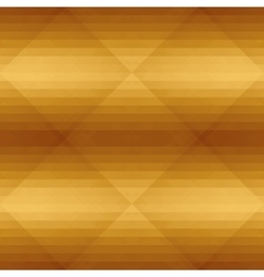 Seamless golden pattern with triangle Geometric vector image