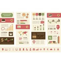 Technology Infographic Elements vector image