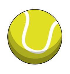 Tennis ball sport image vector