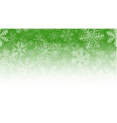 background of many layers of snowflakes vector image