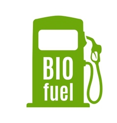 Bio fuel pump vector image