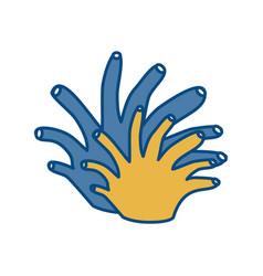 Coral icon image vector