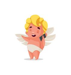 cupid cartoon character vector image